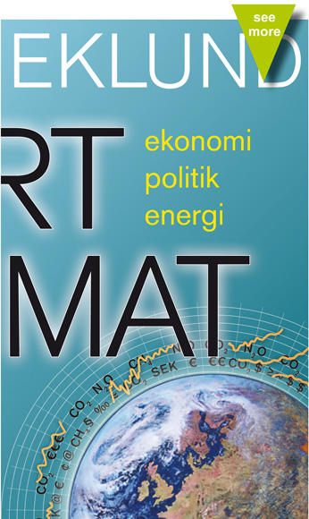 Book cover Vårt klimat